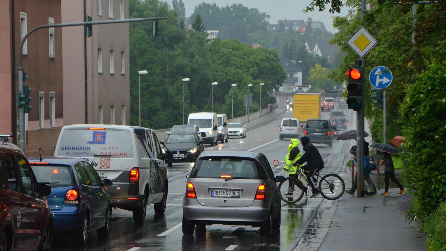 Die Belastung an der Kreuzung Penzendorfer Straße/Fürther Straße war einer der Hauptkritikpunkte.