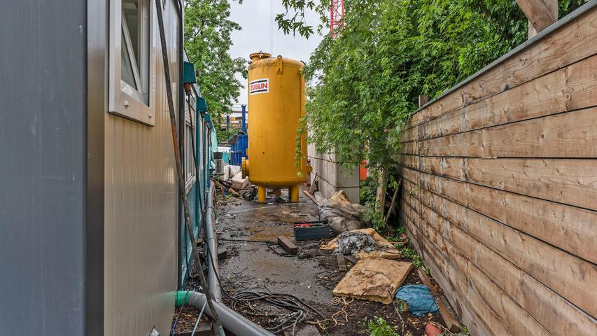 Auch die zylinderförmigen Aktivkohlefilter zur Wasserreinigung werden nicht mehr benötigt.