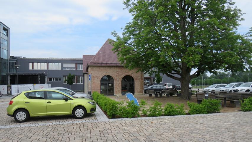 Das alte Heizhaus, das hier zu sehen ist, könnte dann vielleicht bald Karl-Baßler-Haus heißen.
