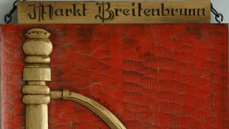 Das Wappen der Marktgemeinde Breitenbrunn