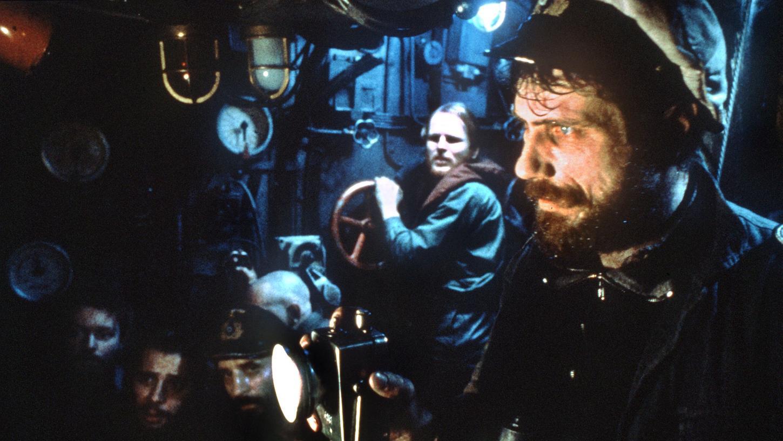 Schauspieler Jürgen Prochnow (rechts) in seiner Paraderolle als