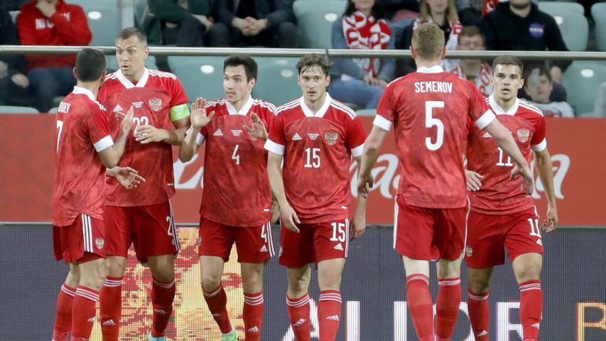 Die Russen werden seit der ersten EURO 1960, die sie gewonnen haben, Sbornaja genannt.