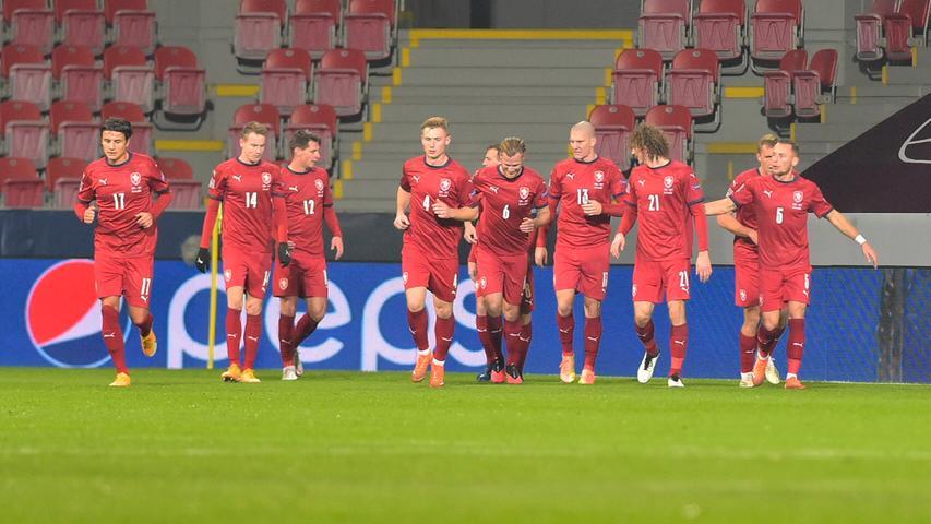 Die Tschechen bleiben da weniger historisch und bezeichnen ihre Nationalmannschaft einfach als