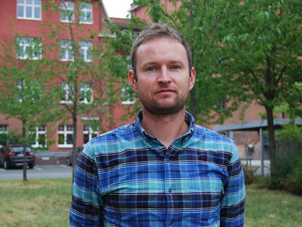 Martin Grosch kümmert sich um alle Belange rund um das Thema Radverkehrsplanung.