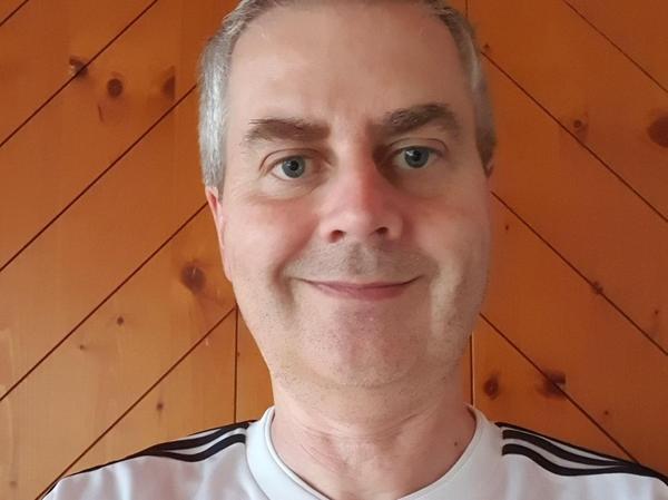 Rainer Kreß, U'reichenbach, Fanclub der Nationalmannschaft. EM-Tipp: Deutschland.