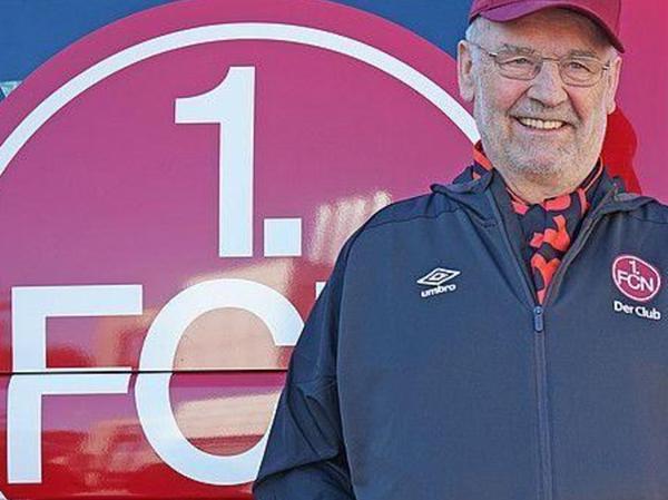Karl Teplitzky, Rednitzhembach, Fan-Beauftragter des 1. FCN. EM-Tipp: Deutschland.