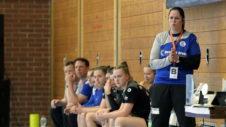 """""""Alles, was jetzt noch kommt, ist das Sahnehäubchen oben drauf"""", sagt Trainerin Ulrike Kardos vor dem Auftritt """"ihrer"""" B-Juniorinnen beim Final Four am Wochenende."""