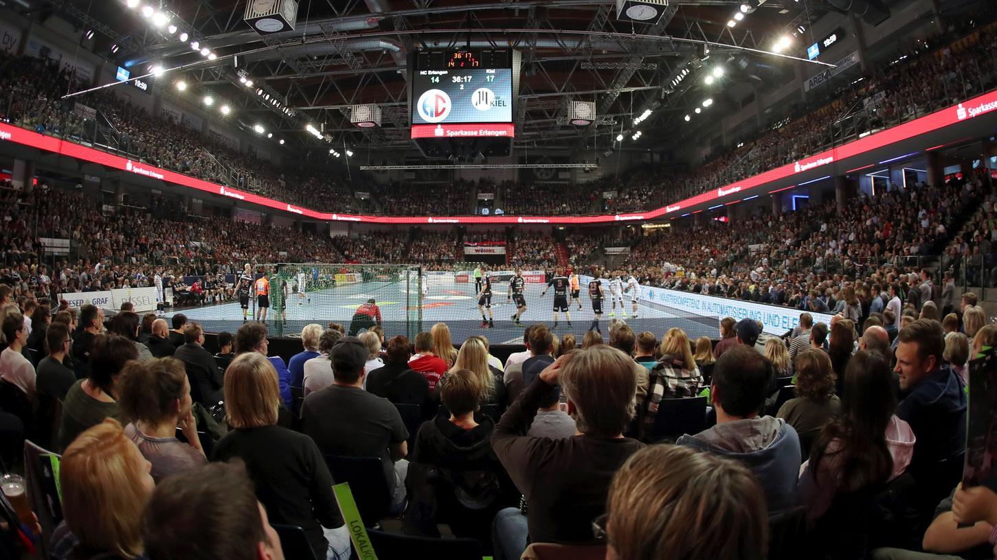 So voll wie hier gegen Kiel wird die Arena vorerst nicht werden. Aber die Tendenz ist positiv.