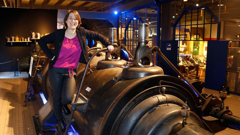 Die Historikerin und Nürnbergerin Monika Dreykorn leitet das Museum Industriekultur seit 2018.