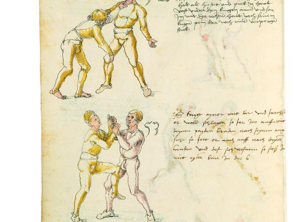 Ein Alter Meister - auch des Fechtsports: Albrecht Dürer.