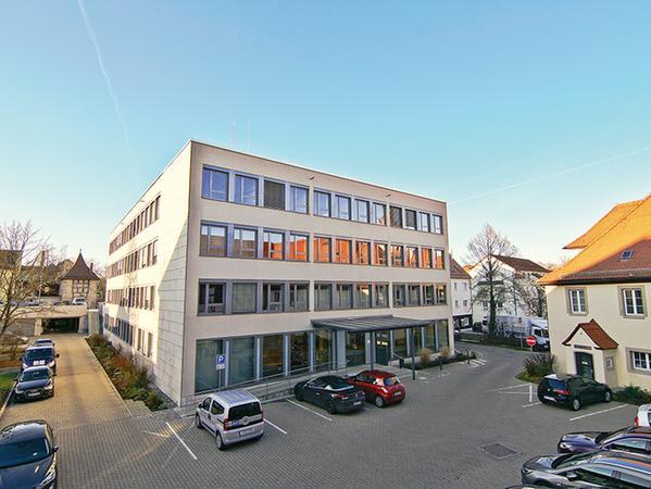 Gebäude des Landratsamtes Weißenburg-Gunzenhausen in Weißenburg
