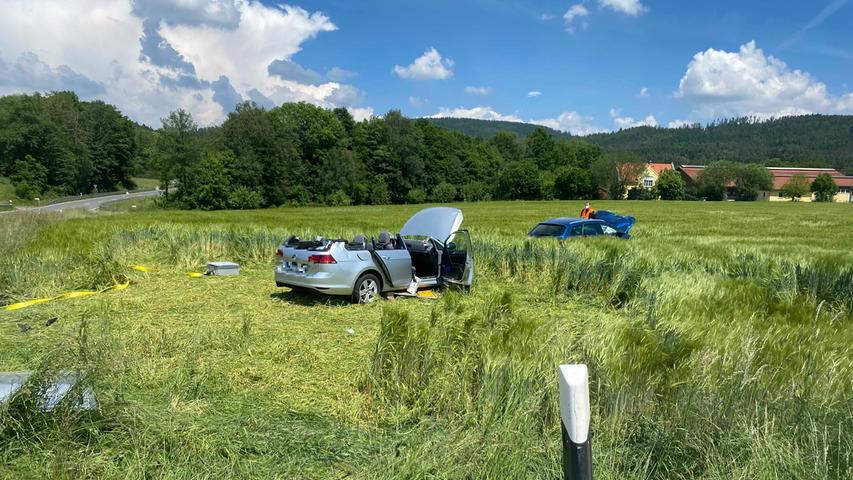 Unfall bei Bayreuth: 75-Jährige lebensgefährlich verletzt