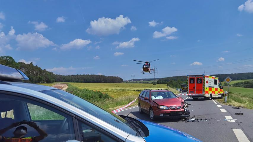 Tödlicher Unfall bei Neustadt: Biker stößt mit Nissan zusammen