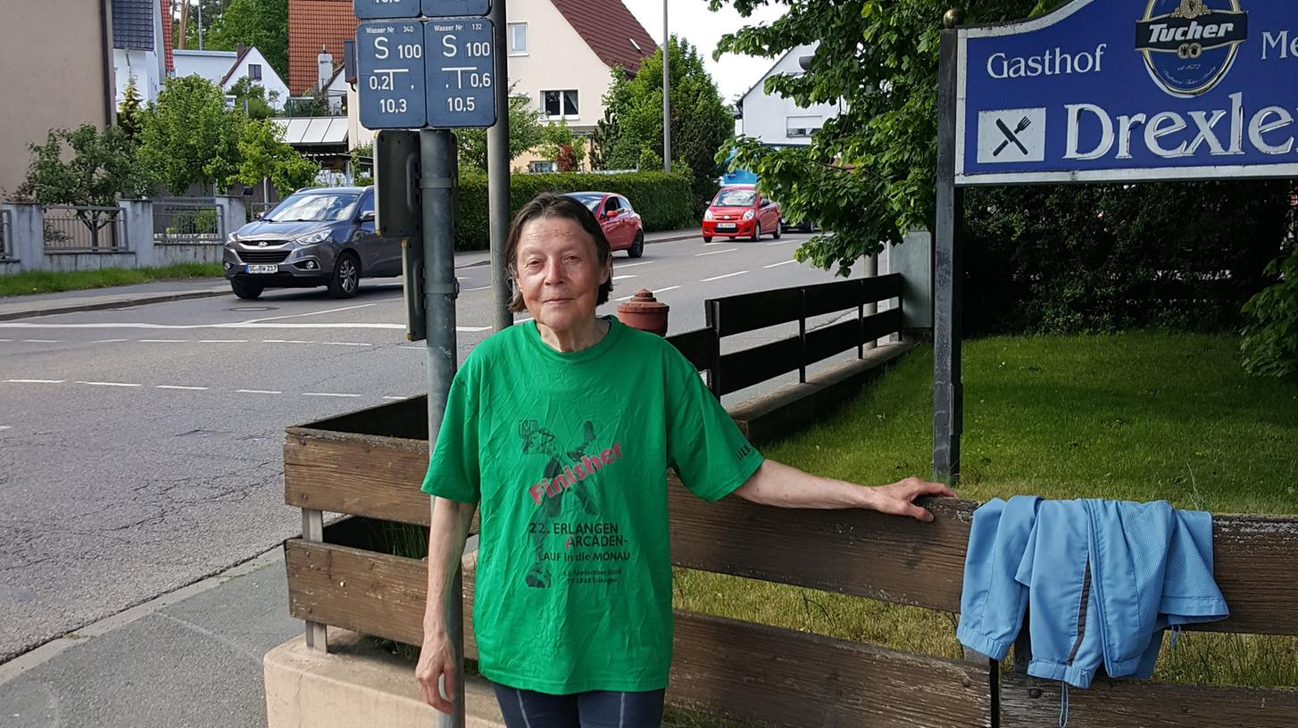 Edeltraud Dörr ist auch mit 71 Jahren noch fit.