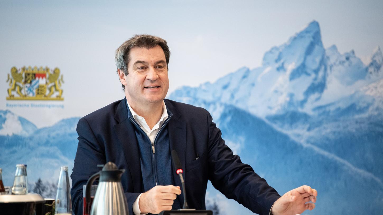 Gehört zu den politischen Topverdienern: Bayerns Ministerpräsident Markus Söder.
