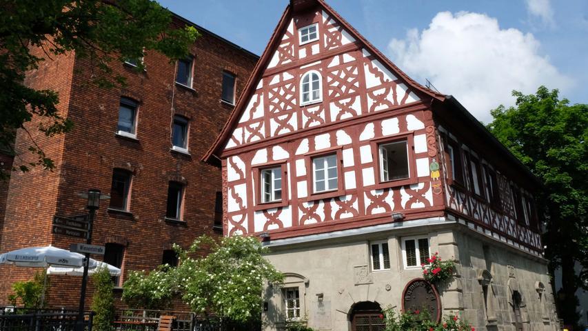 Forchheim , am 10.06.2021..Ressort: Lokales ..Foto: ..,....Gastro: Schiefes Haus,..Schiefes Haus in Forchheim eröffnet neu am 18./19. Juni.....Restaurant Grastro..