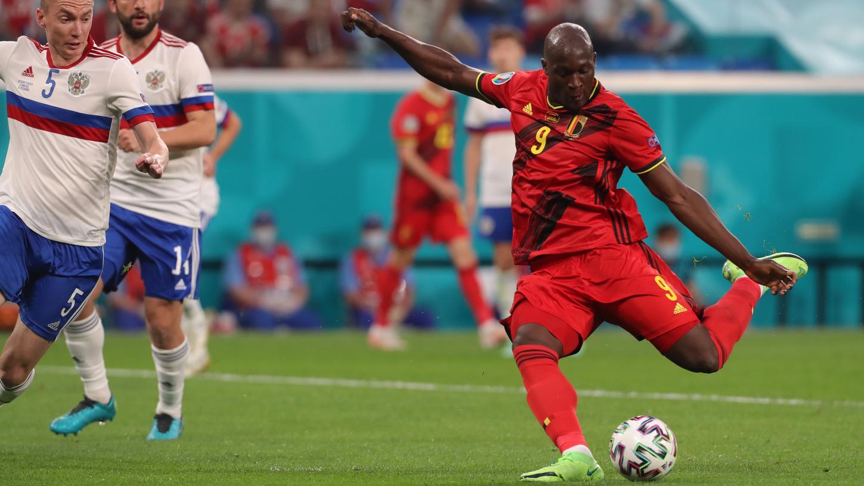 Doppeltorschütze: Belgiens Lukaku demonstrierte gegen Russland seine Extraklasse.