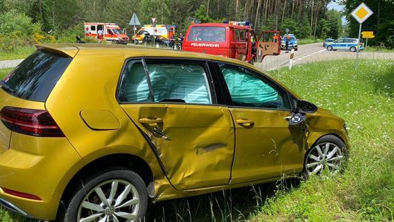 Heideck: 17-jährige Motorradfahrerin schwer verletzt