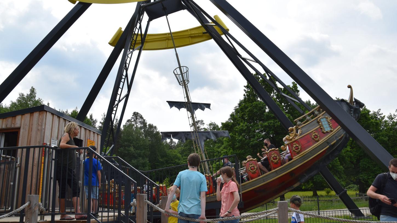 Flaue Mägen im Fledermausflug: Nach Monaten im Lockdown hat der Erlebnispark Schloss Thurn wieder geöffnet.