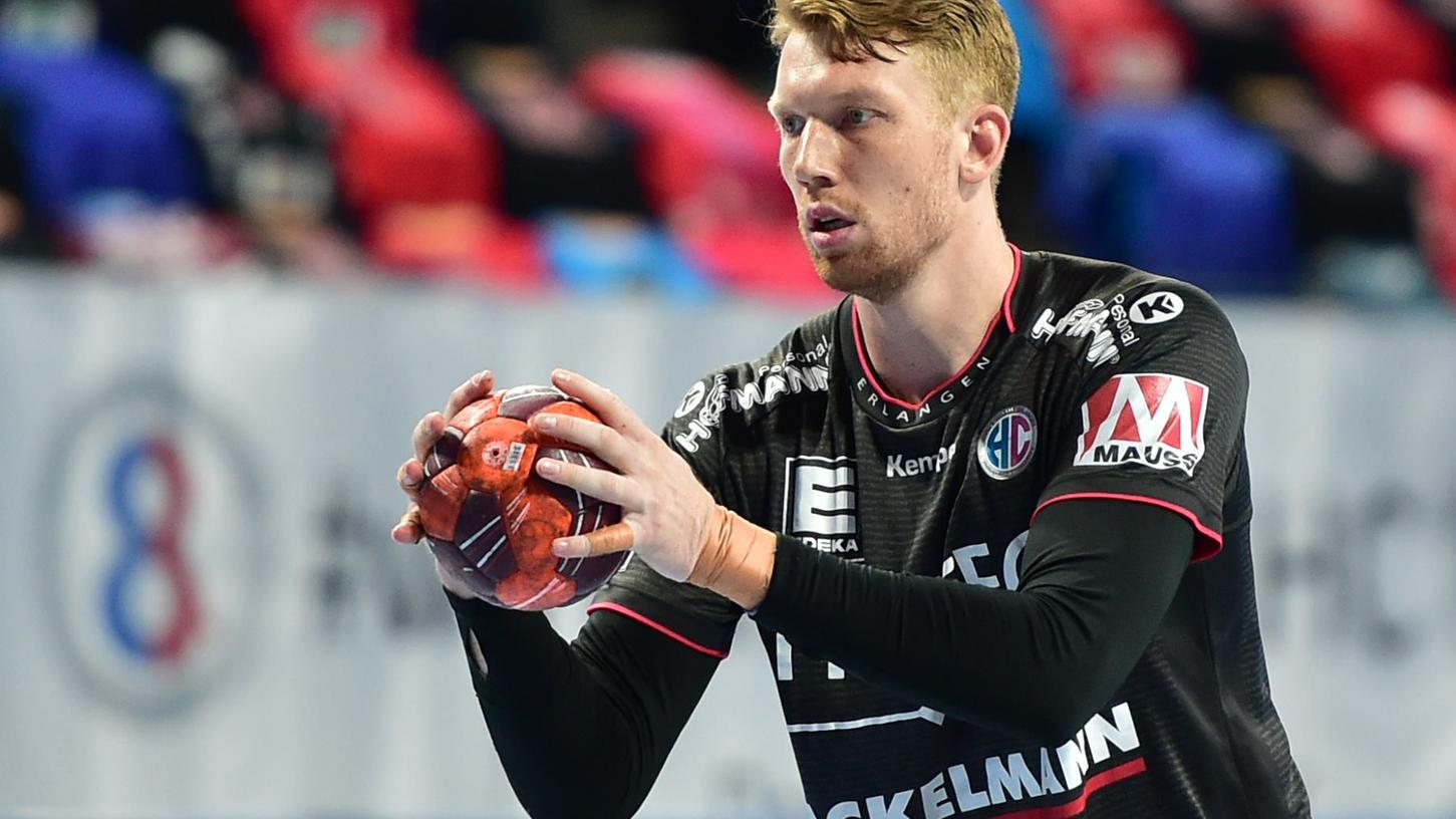 Simon Jeppsson hatte den Ausgleich in der Hand. Sein letzter Wurf landete aber neben dem Tor.