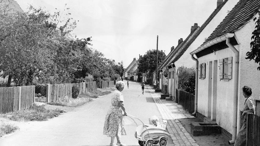 Auch das ist ein Stück Hardhöhe: Ein Blick in die in den 30er Jahren entstandene Hard-Siedlung.