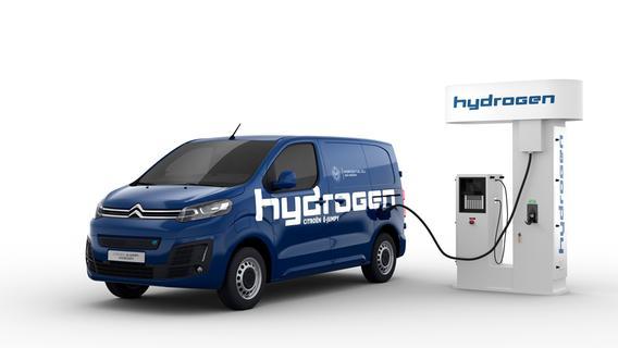 Citroën ë-Jumpy Hydrogen: Fährt mit Wasserstoff