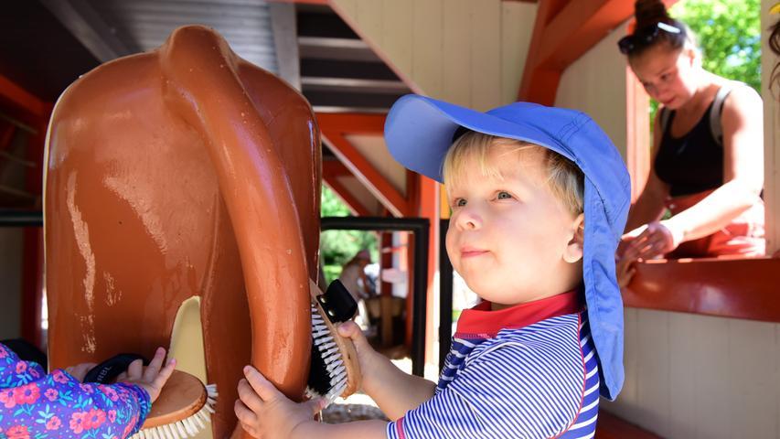 FOTO: Hans-Joachim Winckler DATUM: 14.6.2021  MOTIV: Playmobil funpark - Erster Öffnungstag nach dem Lockdown
