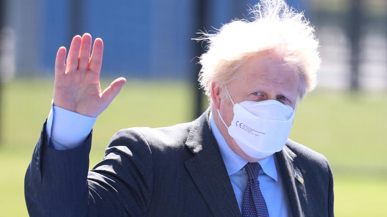 Boris Johnson, Premierminister von Großbritannien,hat Zweifel an derAufhebung aller Corona-Beschränkungen in England. Die restlichen Maßnahmen wurden daher verlängert.