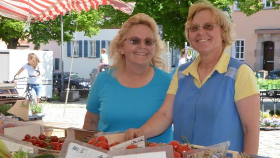 USA-Schwabach: Seit 43 Jahren Urlaub als Marktfrau