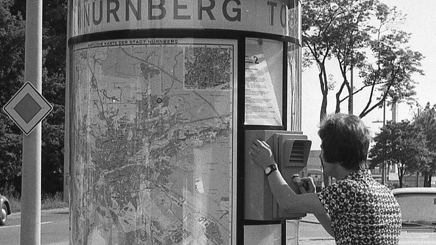 Kalenderblatt: Nürnberg im Juni 1971