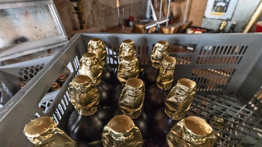 Sogar einen Whiskey-Doppelbock gibt es bei der Brauerei Hertl.