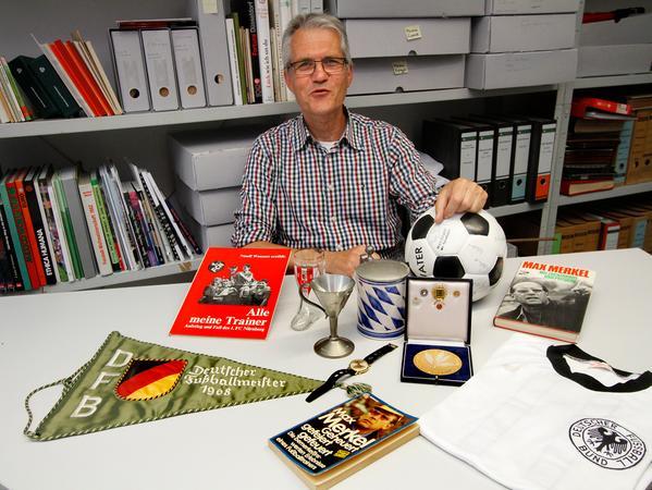 Club-Historiker Bernd Siegler beschäftigt sich seit mehr als 25 Jahren mit der Geschichte des 1.FC Nürnberg.