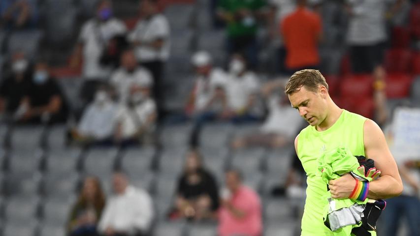Schon nach 20 Minuten erstmals außerhalb der eigenen Box unterwegs. Beim Gegentor chancenlos. Manuel Neuer spielte eben wie: Manuel Neuer. Half am Ende aber auch nichts.