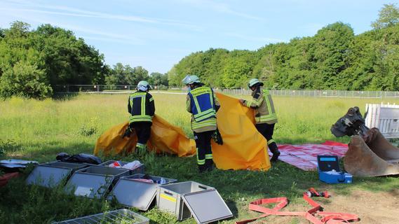 Chlorgas ausgetreten: Feuerwehr Forchheim im Einsatz
