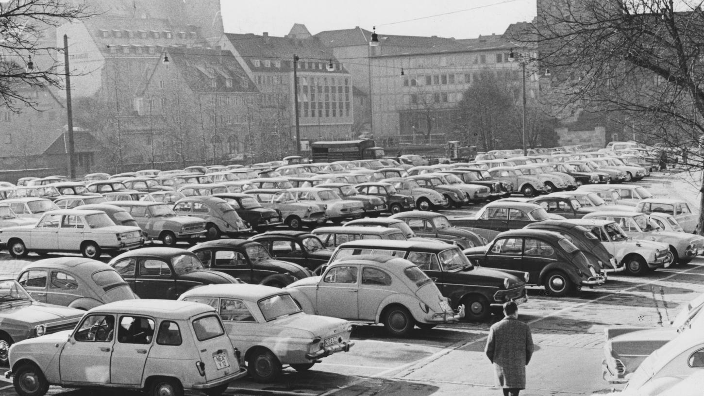 Das Konzept für Nürnberg: statt großer Parkplätze künftig Parkhäuser im Zentrum.