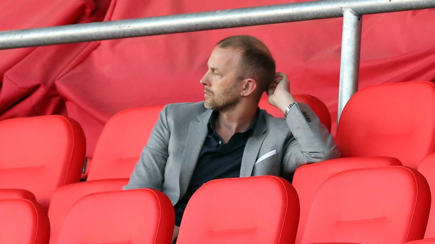 Niels Rossow will mit dem Club in die Bundesliga. Dafür braucht es eine Eigenvermarktung, so derKaufmännische Vorstand des FCN.
