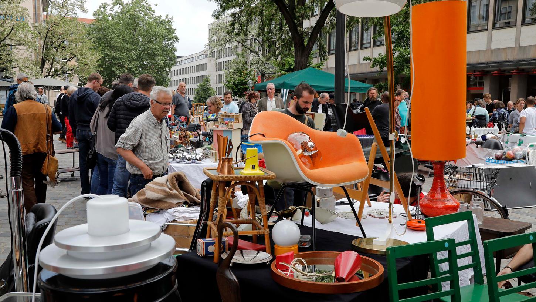 Bummeln, stöbern, kaufen: Der Nürnberger Trempelmarkt lockt 200000 Besucher. In Corona-Zeiten muss er nun erneut abgesagt werden.