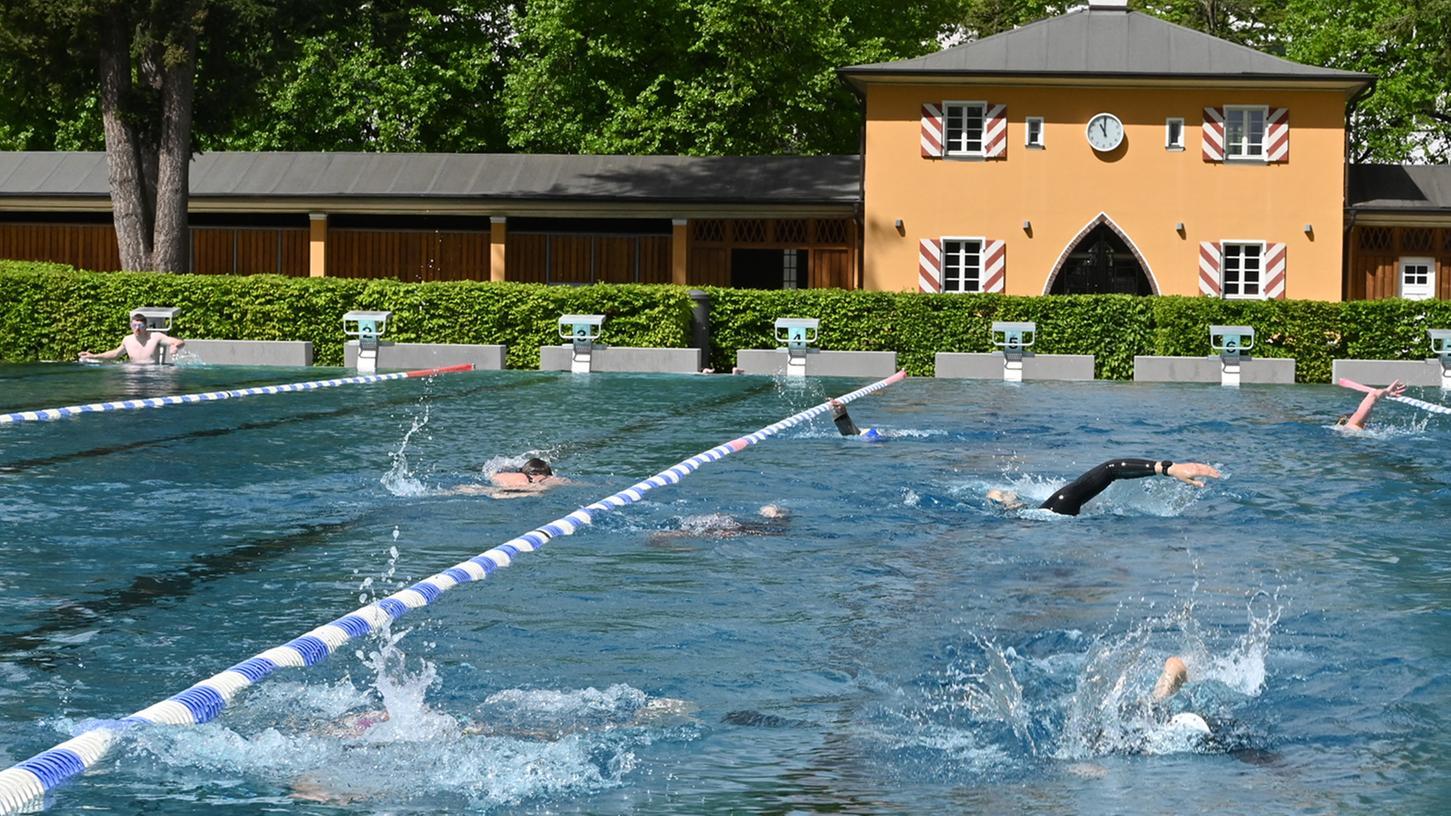 Das Erlanger Röthelheimbad.