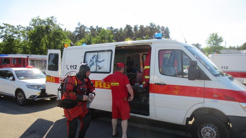 Die Zusammenarbeit zwischen den einzelnen Rettungsorganisationen funktioniert erstklassig.