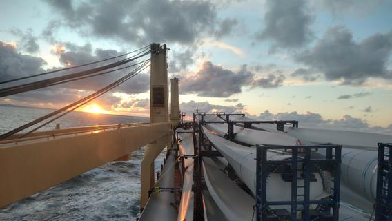 Eindrucksvolle Bilder: Ein Forchheimer unterwegs auf Frachtschiffen