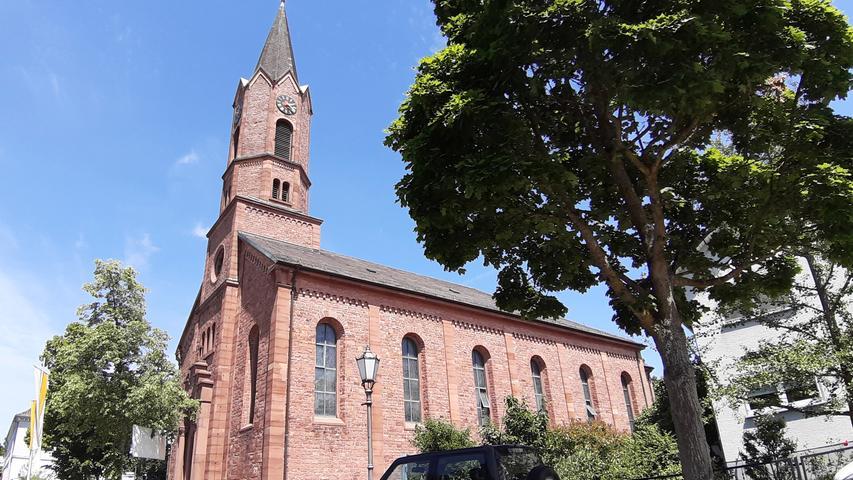 Neben dem Namen haben die beiden Orte noch mehr gemeinsam: Auch im badischen Forchheim gibt es eine Kirche St. Martin.