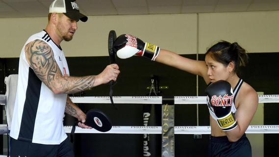 Juniorenboxerin bereitet sich in der Region auf WM-Titelkampf vor