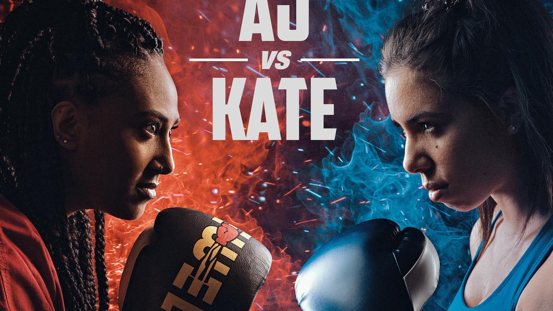 Auch Frauen haben harte Fäuste: Für diese Boxkampf-Szene werden noch Statisten als Zuschauer gesucht. Gedreht wird in einer Fürther Lagerhalle.