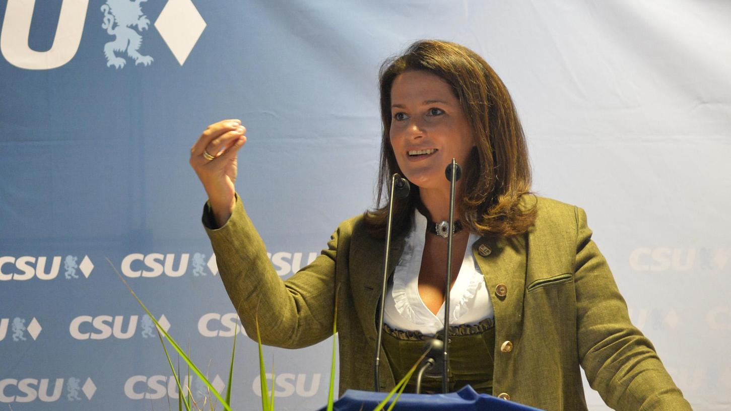 Michaela Kaniber, Landwirtschaftsministerin in der Bayerischen Staatsregierung