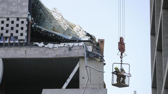 Schulneubau in Antwerpen eingestürzt: Mindestens zwei Tote