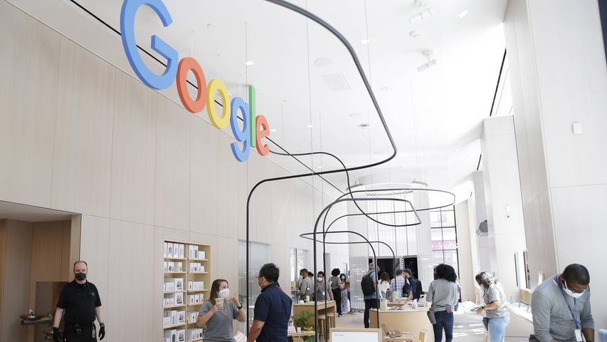 In New York hat der Tech-Gigant Google seinen ersten Shop eröffnet.