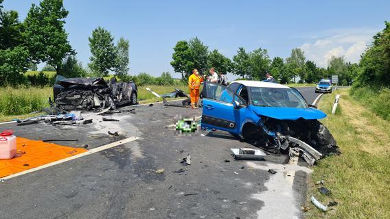 Zwei Schwerverletzte nach heftiger Kollision in der Oberpfalz