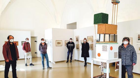 Stadtarchiv präsentiert Ausstellung zu Ehren des Laufer Künstlers