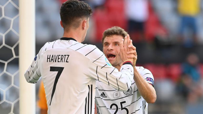 War wie immer fleißig und an drei von vier Toren - zumindest ganz grob in der Entstehung - beteiligt. Auf seinen ersten Treffer bei einer Europameisterschaft muss der Münchner aber weiterhin warten.