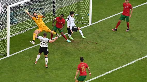 Fußball-Fest in München: Deutschland schlägt Portugal mit 4:2